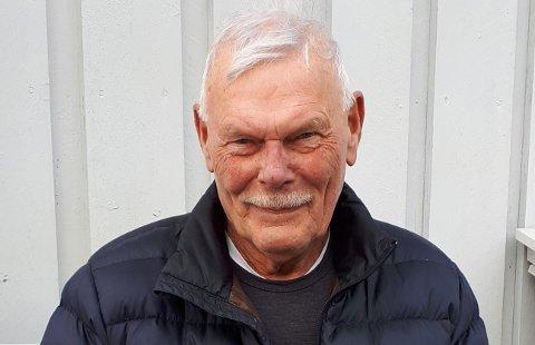 PENSJONIST: Trygve Ramsdal vart 75 år og gjekk av som pensjonist fredag.