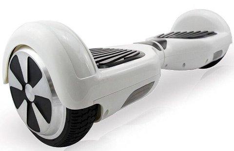 Balanserende brett: Disse balanse-kjøretøyene er blitt svært populære blant unge.