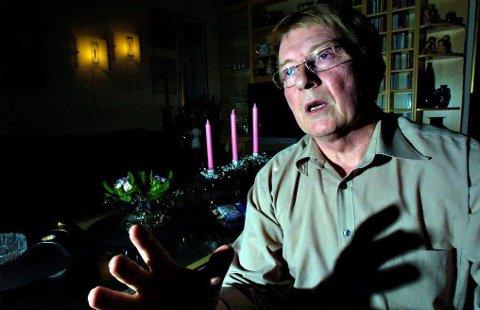 Eivind Norman Borge hevder å ha helt spesielle evner. Nå har han blitt brukt til å jakte spøkelse ved en kommunal institusjon i Fredrikstad.