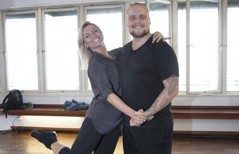 Kandidat 10: Stian «Staysman» Thorbjørnsen. Her med dansepartneren Alexandra Kakurina fra «Skal vi danse».Foto: Marthe Bjerke