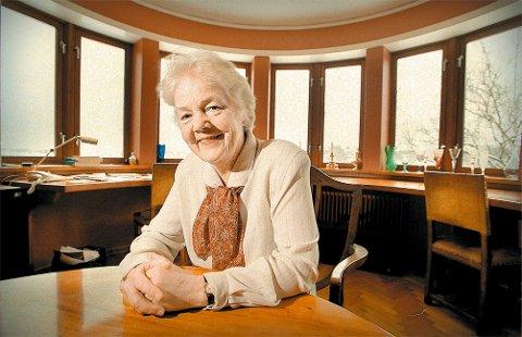 Astrid Nøklebye Heiberg er opphavskvinne til tittelen på dette innlegget. Senere i høst kommer hun til Fredrikstad for å snakke om seniorpolitikk.