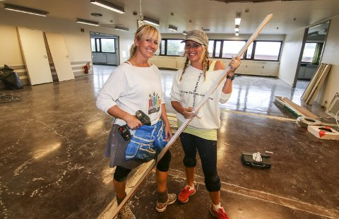Innspurt: De har det travelt, Connie Kjærnes (til venstre) og Camilla Vogt Chyllie. 5. september skal alt være klart på Østsiden. BEGGE Foto: Thomas Hörman Arntsen