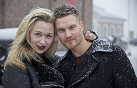 Marie Blokhus og Mads Sjøgård Pettersen spiller hjelperne i Den 12. mann