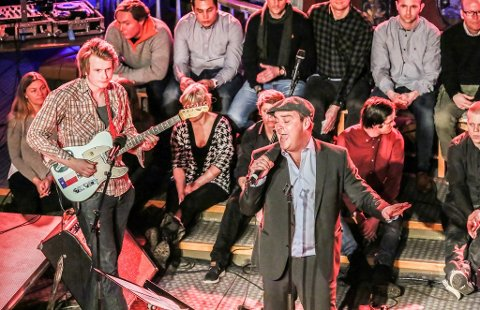 Magnus Berg og Odd René Andersen åpnet hele konserten.