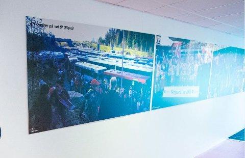 Bildeen: Det er blant annet bilder fra cupfinalen i 2006 som det nå skal bli funnet en ny plass til.