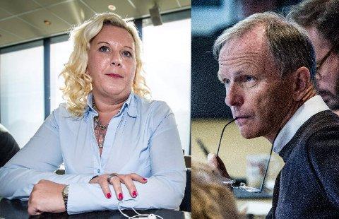 SVÆRT KRITISKE: Anita Vik (Frp) og Truls Velgaard (H) er svært kritiske etter at FB avdekket feilinformasjon til politikerne rundt innsyn som er gitt i varslersaken.