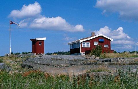 Illustrasjonsfoto: Klassisk norsk hytte.