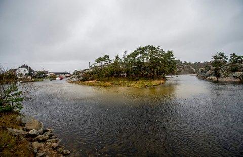 Mange lever på trygd: Nesten en av seks mellom 18 og 67 år lever på trygd i Hvaler. Dette bildet er fra Papperhavn.