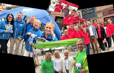 VALG 2019: Ap, Sp og Høyre forteller om sine viktigste saker.