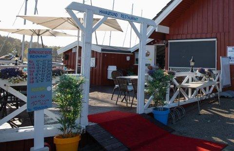 Hankøsund restaurant går bra.  (Arkivfoto: Ida Christin Foss)