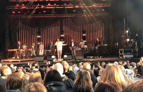 LOVBRUDD: Det meldes om flere lovbrudd under Kirunafestivalen i helgen. Foto: Kirunafestivalen/Facebook