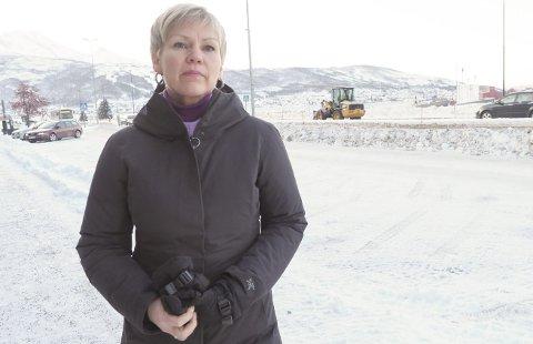 DØGNÅPEN TOLL: Åsunn Lyngedal krever døgnåpen tollstasjon på Bjørnfjell så lenge togtrafikken mellom Narvik og Oslo er rammet av togavsporing i Sverige. – Togavsporingen viser hvor sårbar infrastrukturen er, sier hun.