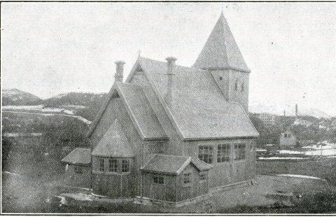 Ålgård kapell stod ferdig i 1917.