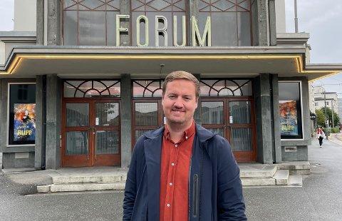 Håkon Ege Hetland har begynt i ny jobb hvor han har ansvaret for selve bygget Forum scene i Bergen.