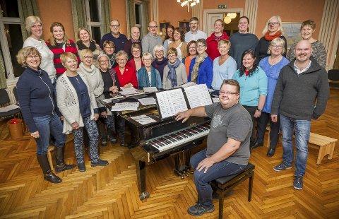 ÅPNER: Kongsvinger blandakor er med og åpner visefestivalen i Kongsvinger.