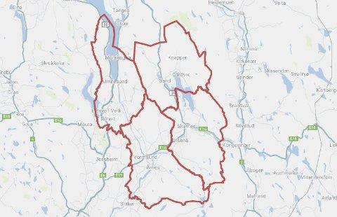 MØRKE BOLIGER: Tre lokale kommuner er rammet av strømbrudd onsdag. I tillegg er flere kunder i Eidsvoll strømløse.