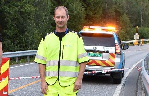 Byggeleder Tore Dyrseth i Viken fylkeskommune.