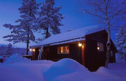 INNELIV: Du dør ikke av å være inne når du er hjemme, og du dør neppe av det på hytta heller. FOTO: Espen Bratlie, NTB scanpix  FOTO: Espen Bratlie / NTB scanpix /