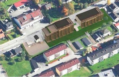 Oppland fylkeskommune har innvendinger mot det planlagte leilighetsprosjektet i Storgata 160-164, og uttaler at det bryter for sterkt med strøkets karakter.