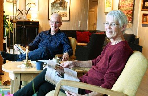 Anne og Sjur Mykletun var de første som kjøpte leilighet på Marienhø. SVEIP FOR Å SE FLERE BILDER