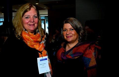 NEI TAKK TIL PR-BYRÅ: Både Elverum-ordfører Lillian Skjærvik (Ap), til venstre, og Ringsaker-ordfører Anita Ihle Steen (Ap) sier nei takk til bruk av PR-byrå i sykehuskampen.