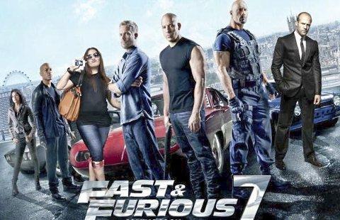 BEST SÅ LANGT: Fast & Furious 7 ble sett av 1.907 personer på Aladdin kino.