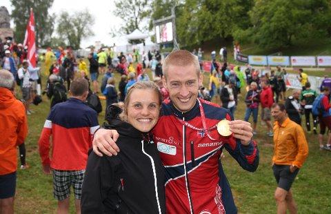SPENNENDE TIDER: Olav Lundanes og samboer Ida Marie Næss Bjørgul venter snart barn.