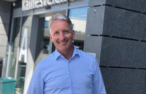 Administrerende direktør i Østfold Energi, Oddmund Kroken, er fornøyd med resultatet for 2020.