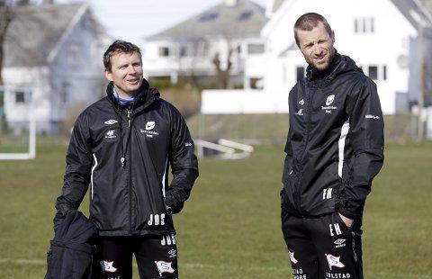 GJENFORENES I FKH: Jostein Grindhaug og Eirik Horneland.
