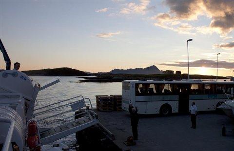 Ny tid: Det er digitale billetter som gjelder på buss og båt i Nordland.