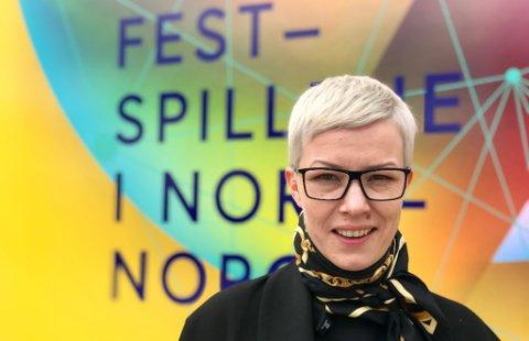 GÅR AV: Maria Utsi fra Austertana går av som direktør for Festspillene i Nord-Norge.