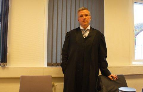 ERKJENNER IKKE STRAFFSKYLD:Forsvarer i Olderfjordsaken, Kjetil Hugo Nilsen, sa i sitt fremlegg til retten at straffeskylden i saken er et spørsmål om hvorvidt tiltalte handlet uaktsomt.
