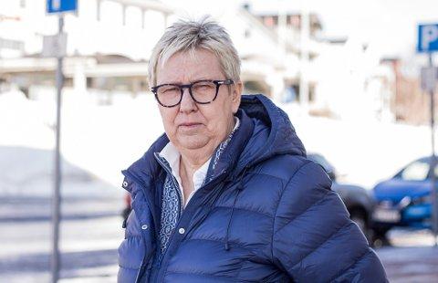 BEKYMRET: Ordfører Wenche Pedersen er bekymret over utviklingen i kommunen.