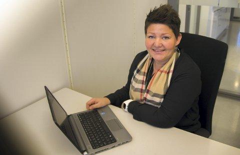 KLAR FOR START: Elin Skogly fra Aursmoen er avdelingsleder for Prima Omsorg Nedre Romerike. FOTO: Siri Sønstelie