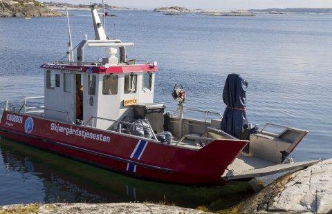 SKJÆRGÅRDSTJENESTEN: Den rette kandidaten skal blant annet betjene denne båten.