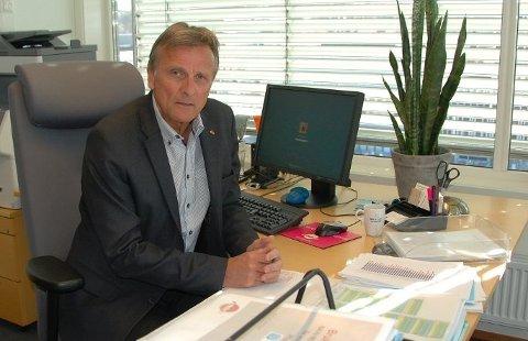 NEDGANG: Direktør i Nav Vestfold og Telemark, Terje Tønnessen kan konstatere en gledelig utvikling i arbeidsmarkedet.