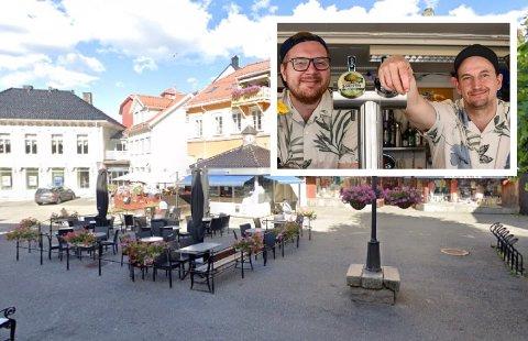 AVLYST: Torvkafeen skulle stå for skjenking under Street Food Norway sin matfestival i sentrum.