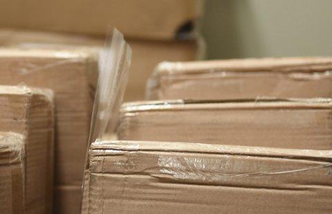 Papp og papir: Mange bedrifter har mykje papp- og papir-avfall som blir levert til resirkulering. illustrasjonsfoto