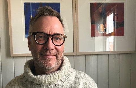 Torsdag opnar kunstnaren Yngve Henriksen utstilling i Galleri G Guddal. (Pressefoto).