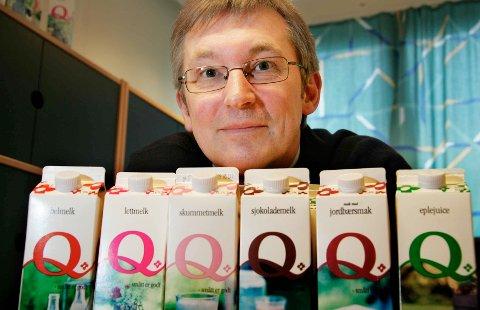 Administrerende direktør Bent Myrdahl (bildet) i Q-Meieriene.