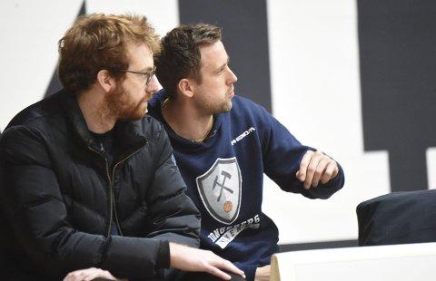 PÅ SKADELISTEN: Petar Kutlesic (t.v.) og Nicolai Østbye.