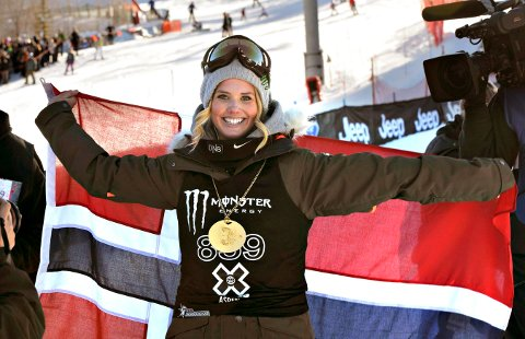 LEGGER OPP: Fire ganger har Silje Norendal tatt gull i X-games. Nå legger hun opp. FOTO: OLE JOHN HOSTVEDT
