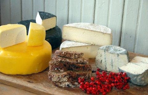 Diverse ost fra Aalan gård i Lauvdalen