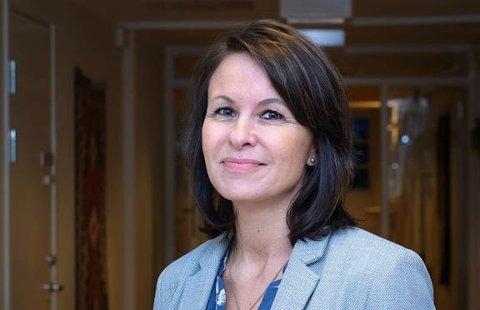 FRISTBRUDD: Hedda Soløy Nilsen, avdelingsleder for psykisk helse ved Nordlandssykehuset forteller at det er beklagelig når pasienter ikke får behandling innen fristen.