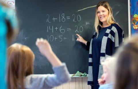 FLERE MANGLER KOMPETANSE: I Viken mangler nær 1650 matematikklærere fordypning i faget de underviser i.