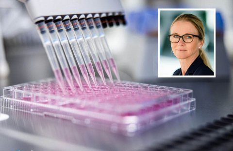 VAKSINE: Fondsforvalter Benedicte Kilander Bakke har mange selskaper i porteføljen. Et av dem har utviklet en vaksine mot sykdommen mange nordmenn rammes av i sommerhalvåret.