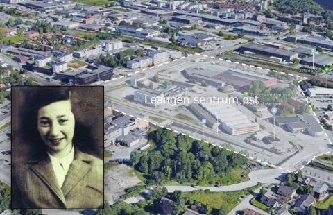 NY SKOLE: På denne tomta skal Trøndelag fylkeskommune reise en ny videregående skole i Trondheim. Nå kan den bli oppkalt etter den jødiske jenta Cissi Klein, som døde i Auschwitz som 13-åring.