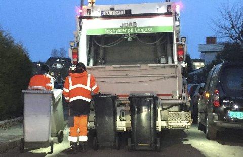 LOVBRUDD: Veirenos mange brudd på arbeidsmiljøloven og konkursvarsling var utslagsgivende for at Oslo kommune nå har tatt over søppelbiler og ansatte. Arkivfoto