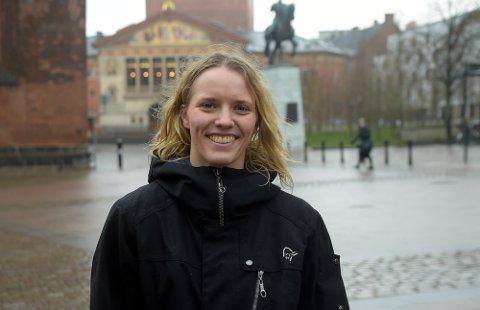 TRIVES: June Bøttger har funnet seg godt til rette i Aarhus.