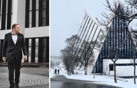GLEDER SEG: Jardar Johansen gleder seg stort til å endelig ha konsert igjen. det skjer i Ishavskatedralen førstkommende fredag.